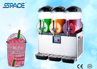 Triple Tanks Restaurant Frozen Drink Machine , Countertop Slush Machine