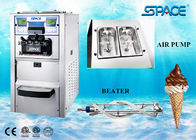 Soft Ice Cream Vending Machine , Portable Soft Serve Ice Cream Maker 48Liter/Hour