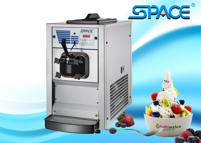 Table Top Soft Serve Ice Cream Machine Single Flavor CE ISO9001 ETL Approved