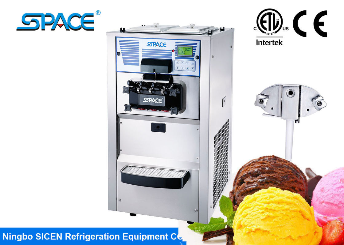 Soft Ice Frozen Yogurt Ice Cream Machine Commercial Microprocessor Controls