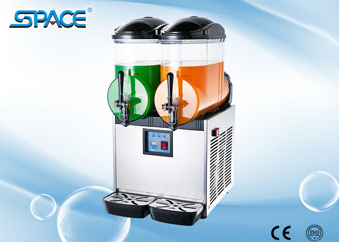 Commercial Grade Frozen Granita Machine Stainless Steel Body CE ISO9001