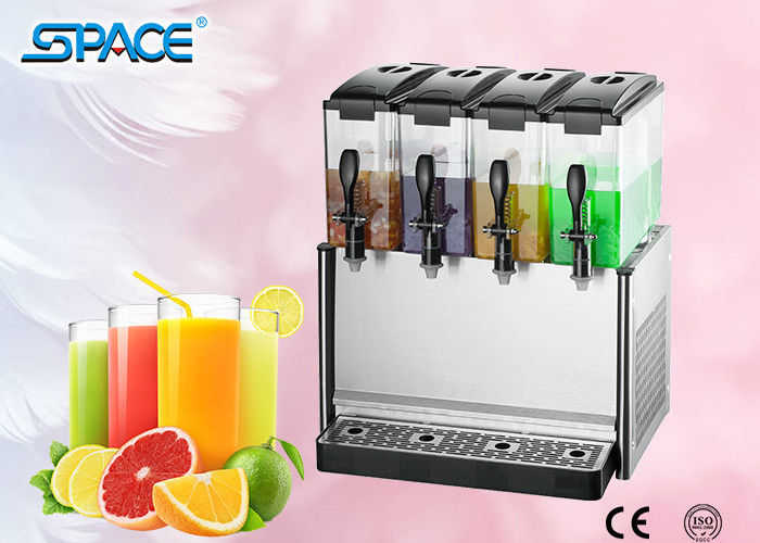Low Noise Electric Drink Dispenser , Commercial Cold Beverage Dispenser