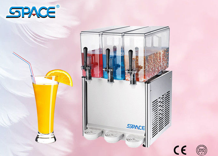 Commercial Automatic Cold Juice Dispenser Machine with Three Tank CE ISO