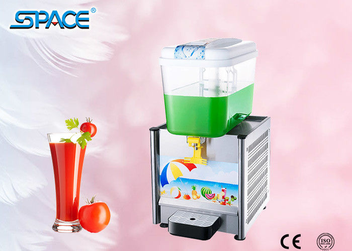 Commercial Electric Cold Beverage Dispenser With Single Tank 18liter Capacity