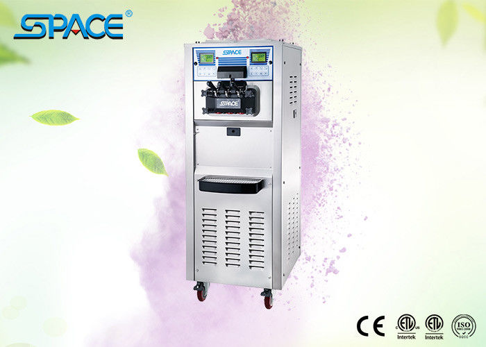 Compact Design Soft Ice Cream Machine Maker With Full Stainless Steel Body