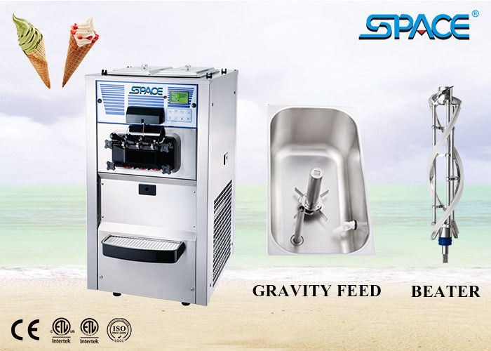 Commercial Bench Top Mini Soft Serve Ice Cream Machine Air Cooling